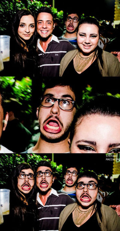 funny face photobomb, photoshop, face swap