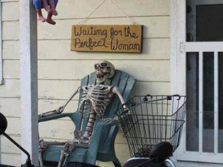perfect woman, wait, skeleton, lol