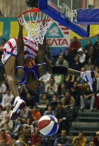 basketball, dunk, upside down, huge