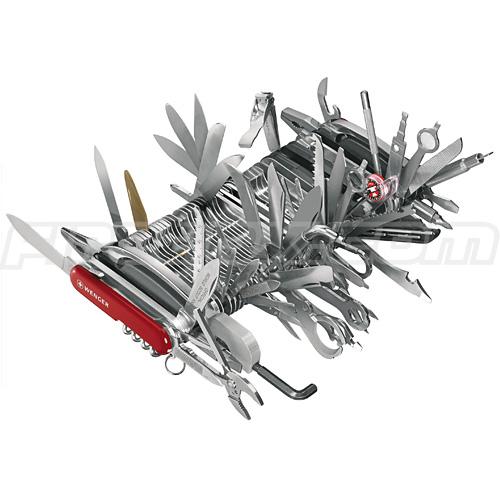 swiss army knife, big, long, photoshop