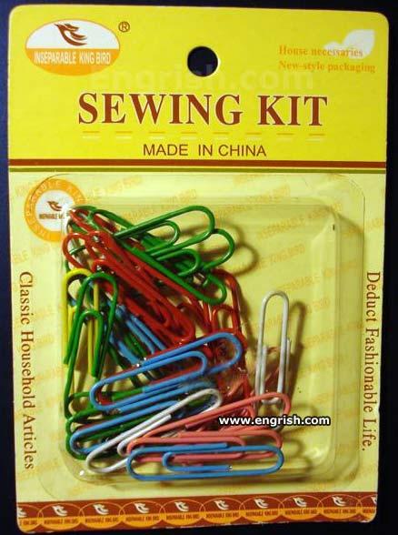 engrish, china, sewing kit, product, fail