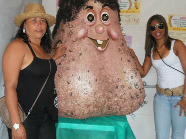 mr balls, mascot, terrifying, testicular cancer, wtf
