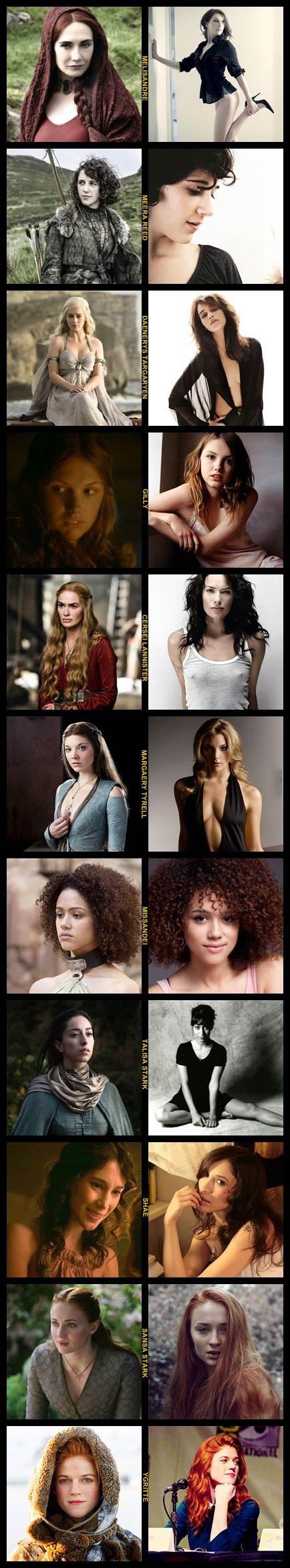 game of thrones, women, actresses