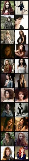 game of thrones, women, actresses