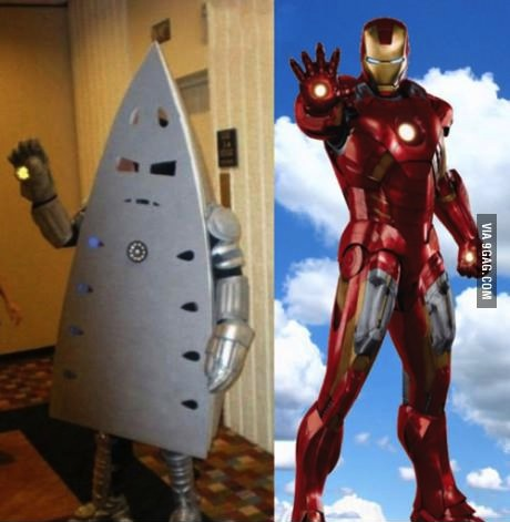 ironman, costume, fail, lol