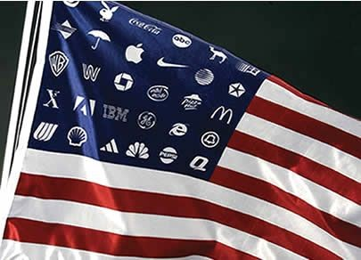 flag, logo, corporate, usa, america