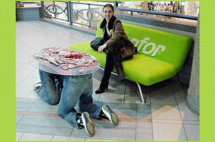 coffee table, wtf, guy bending over, legs