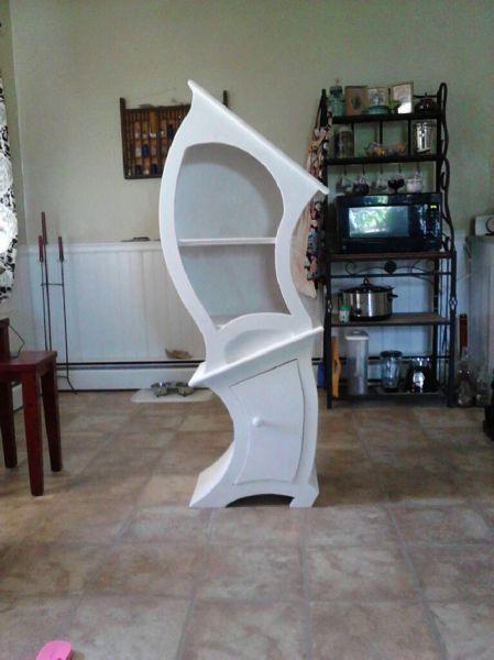 furniture, wtf, design, curved, shelf