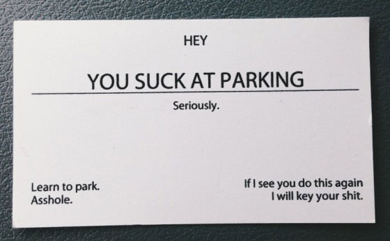 scumbag parking, card, lol, suck