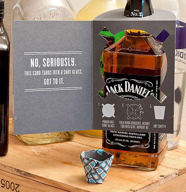 jack daniels, product, card, shot glass