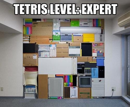 tetris level, expert, meme, stack, pile, masonry