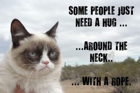 hug, neck, rope