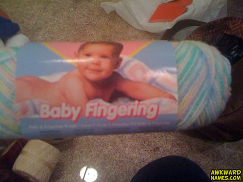 worst product name ever, baby fingering, wtf