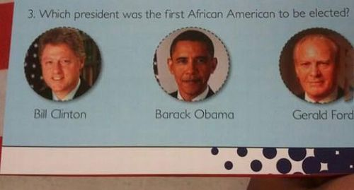 president, african american, first, question, obvious