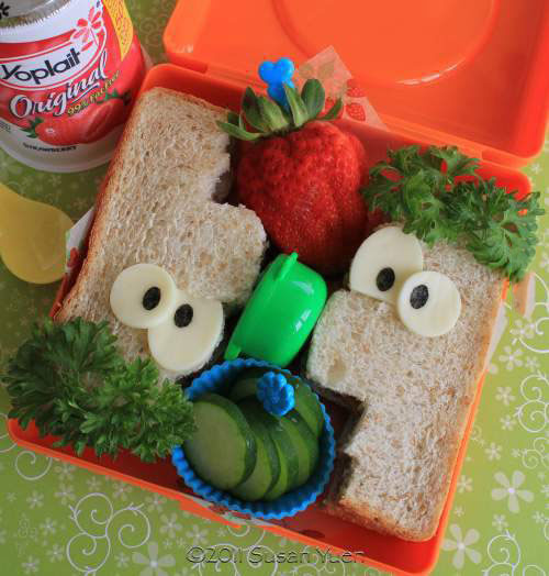 sandwich, lunch, parenting win