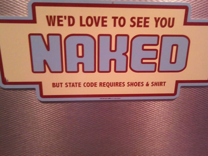 naked, sign, law, rules, lol