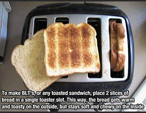 life hack, toast, bread, soft and chewy