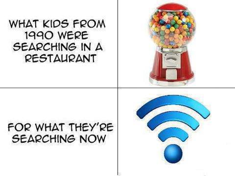 kids, search, gum ball machine, wifi