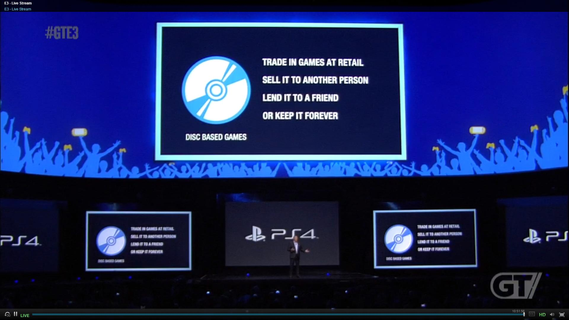 good guy sony, disc based games, video game console, ps4, playstation