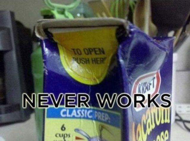 annoying, things, kraft dinner, press here to open