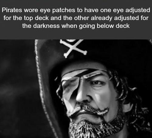 pirates, vision, eye patches, dyk, adjusted