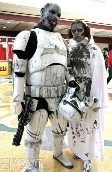 star wars, storm trooper, zombie, costume, cosplay, win