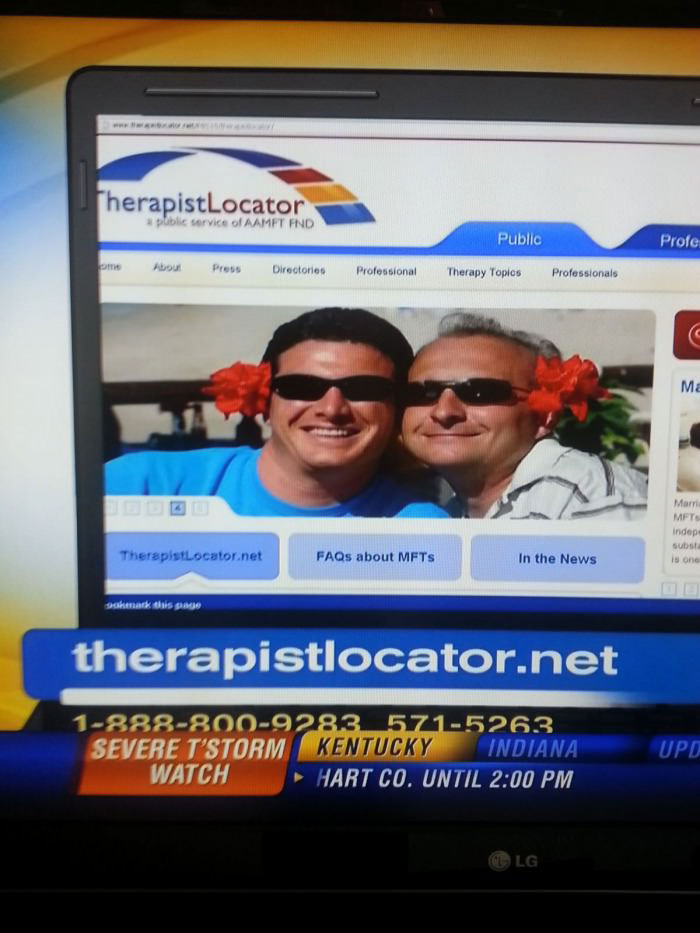 website, fail, name, therapist locator
