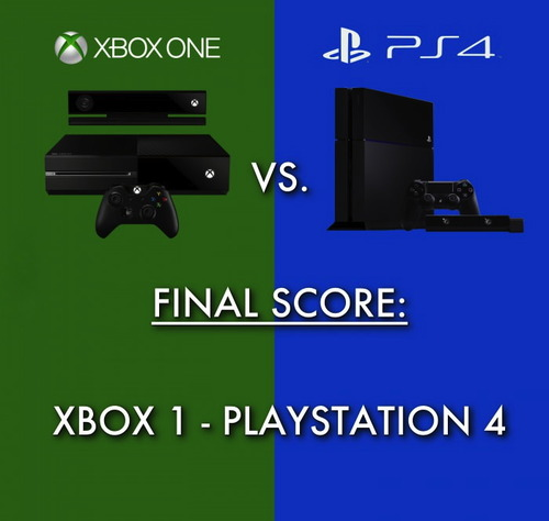 console wars, wordplay, xbox one, ps4, playstation