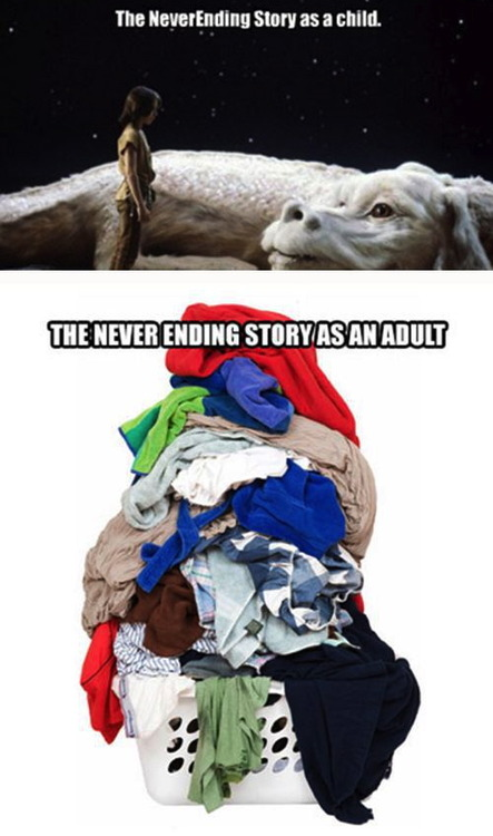 young, old, adult, childhood, never-ending story