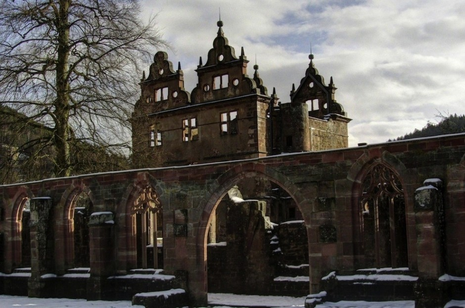 15th century monastery, black forest, germany, beautiful places