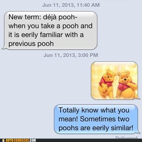 deja pooh, iphone, lol, winnie the pooh