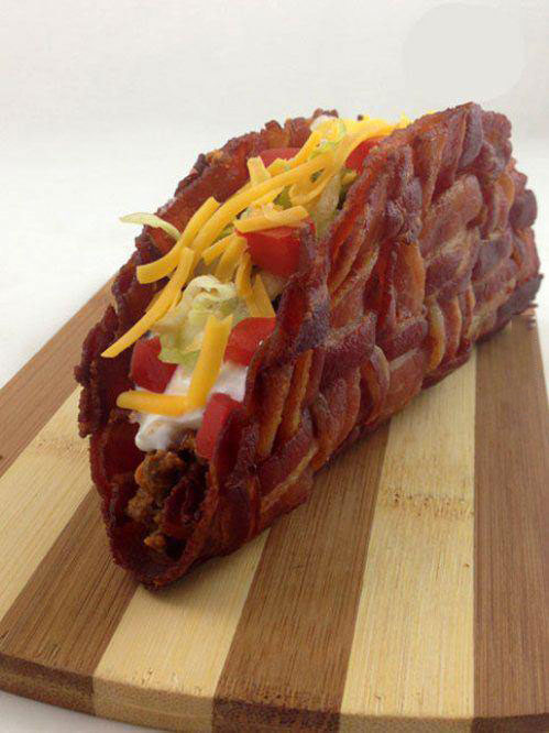 bacon taco, win, taco bell