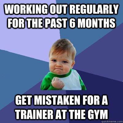 working out, exercise, gym trainer, win, meme