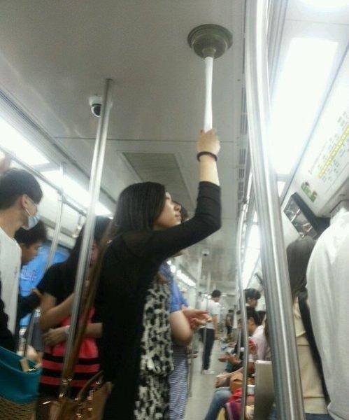 subway, metro, custom pole, plunger, lol, wtf