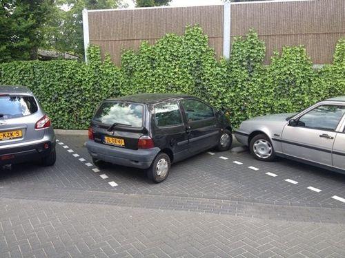 parking, car, fail, perpendicular