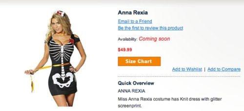 worst, costume, anna rexia, anorexia, halloween, skeleton