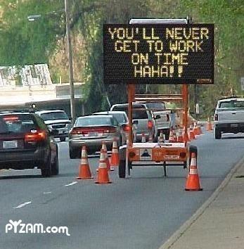 traffic, road sign, troll