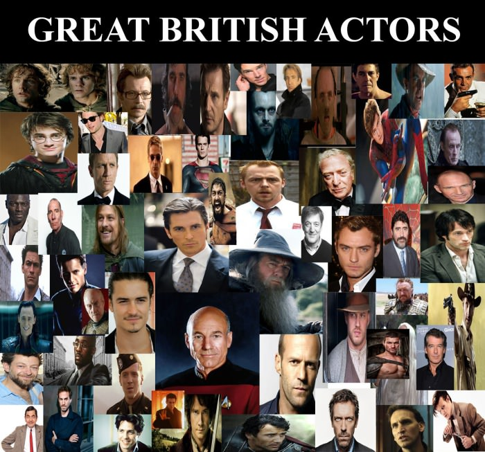 great british actors