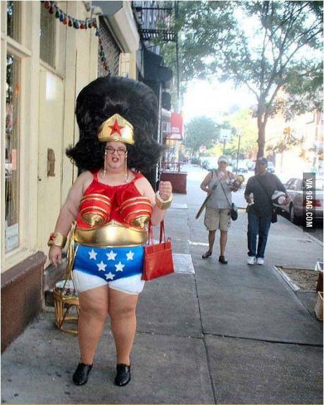 superwoman, 'murica, fat, wtf, costume