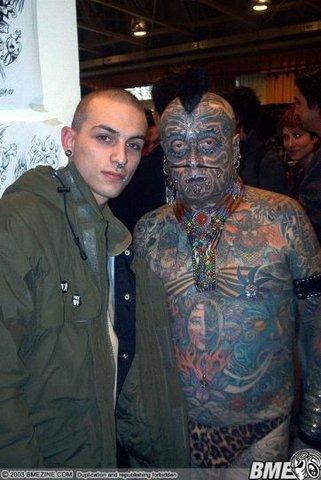 tattoo, full body