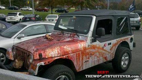 halloween, best, jeep, blood, arm