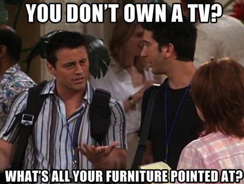 furniture, friends, joey, meme, joke, tv