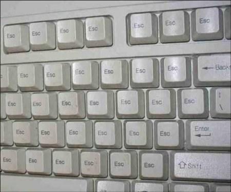 keyboard, escape key