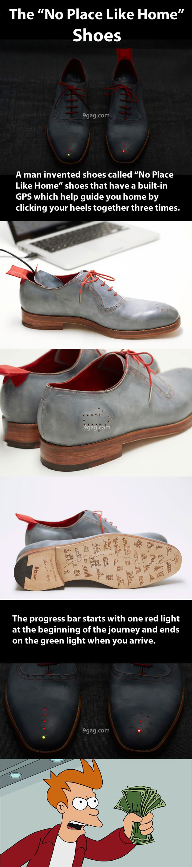 shoes, idea, clever, wizard of oz, gps