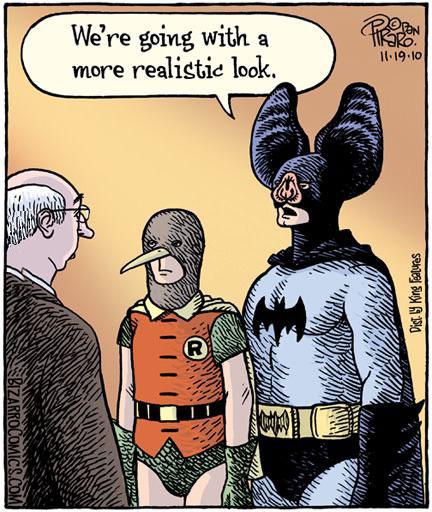 batman, robin, realistic, comic