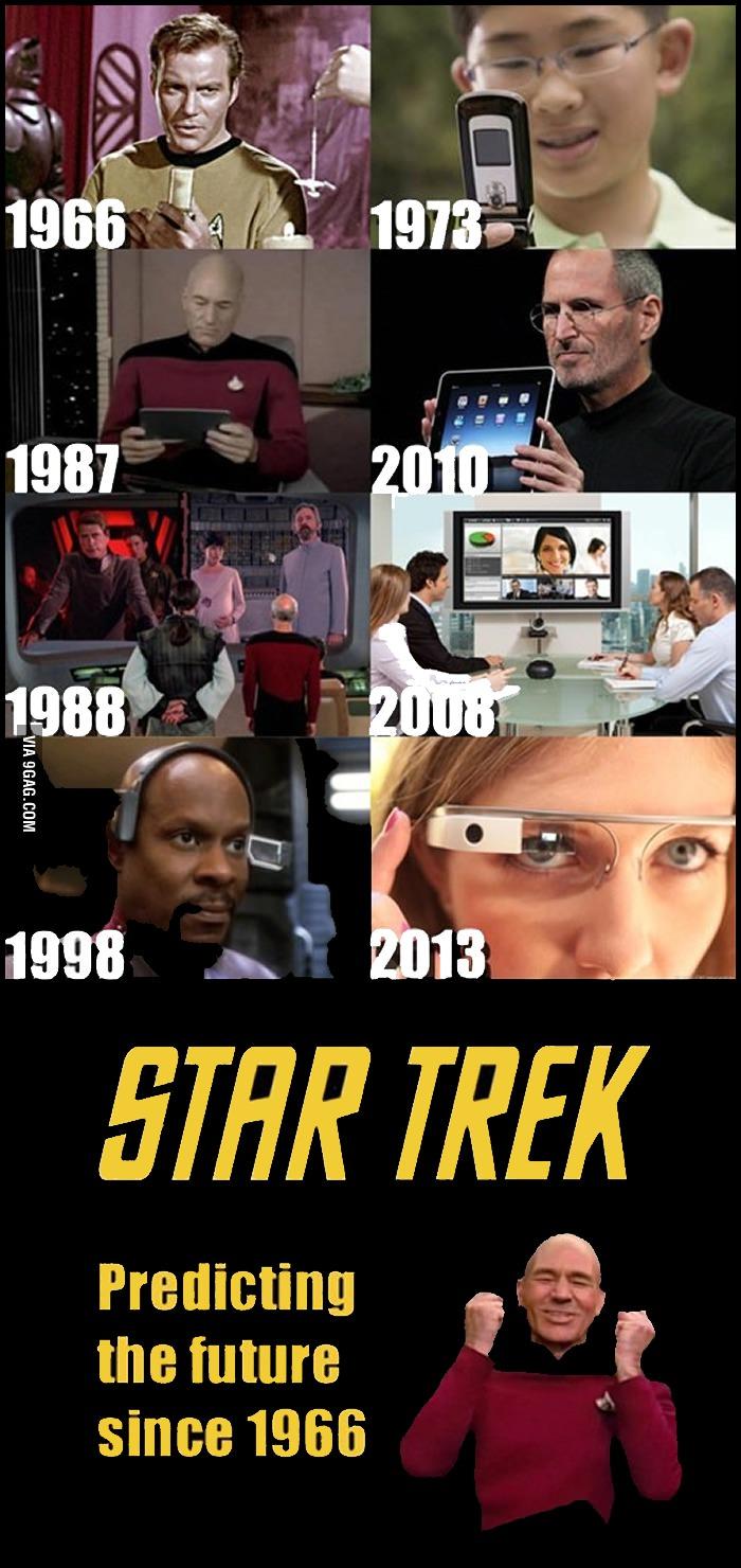 star trek, technology, predicting the future