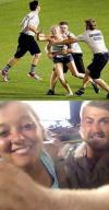 fans, grounds crew, field, selfie, best