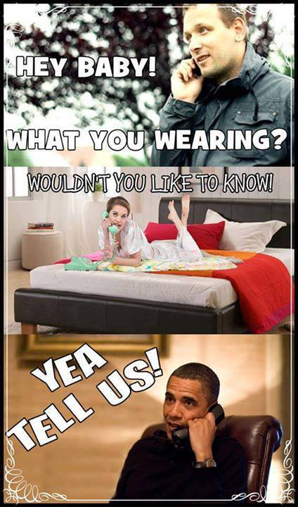 nsa, spying, telephone, what are you wearing