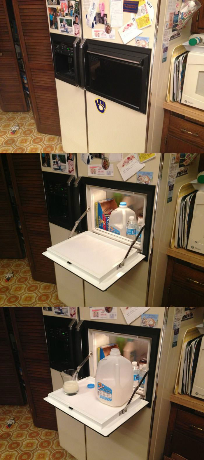 fridge, feature, mini door, win, product