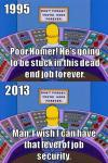 simpsons, job security, power plant, homer simpson